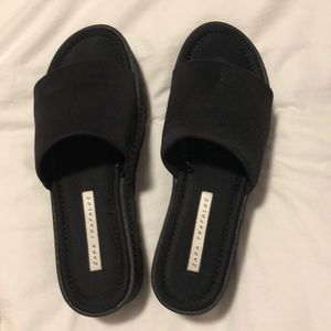 Zara platform sandals
